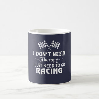 GO RACING COFFEE MUG