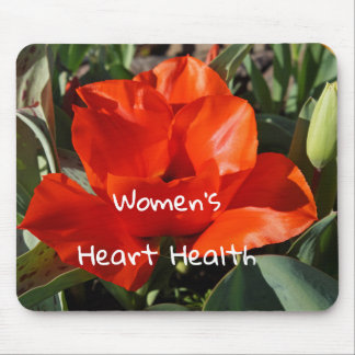 Go Red for Women Gifts Women's Heart Health Month Mouse Pad