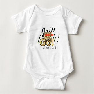 'Go Rock' baby bodysuit