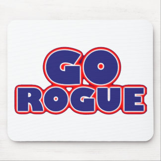 Go Rogue Mouse Pad