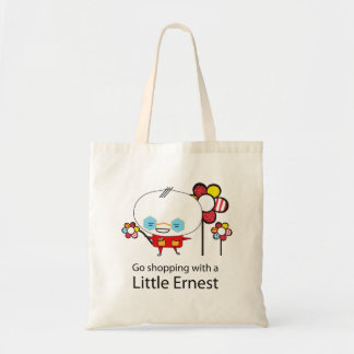 Go shopping with a little Ernest v2 Tote Bag