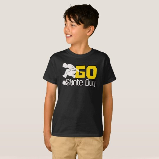 Go Skate Day T-Shirt