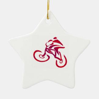 Go Speed racer go... Ceramic Star Ornament
