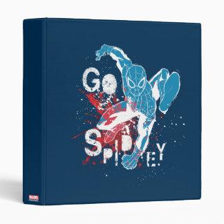 Go Spidey Vinyl Binder