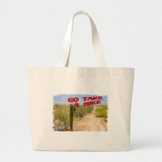 Go Take A Hike Jumbo Tote Bag