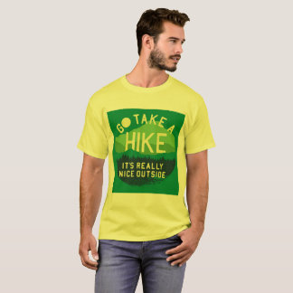 """Go take a hike"" tee shirt"