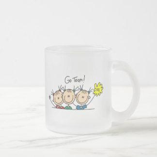 Go Team Stick Figures Mug