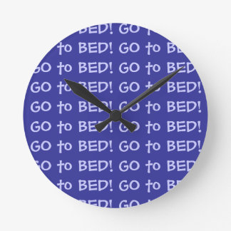 Go to Bed Wallclock