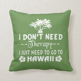 GO TO HAWAII THROW PILLOW