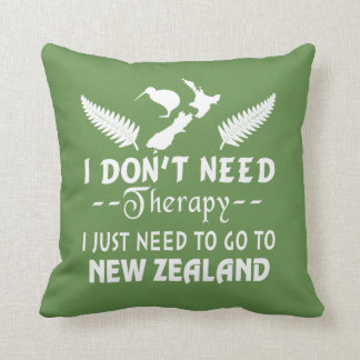 GO TO NEW ZEALAND THROW PILLOW