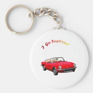 Go Topless Keychain