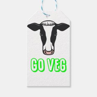 Go Veg ©  Logo Gift Tags