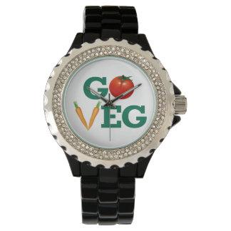 Go Veg Wrist Watch