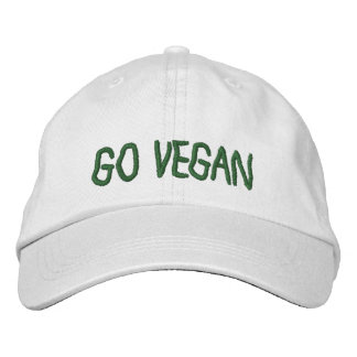 Go Vegan - Baseball Cap
