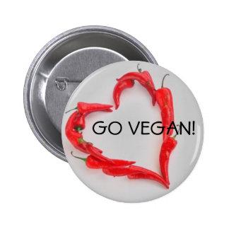 Go Vegan! Pins