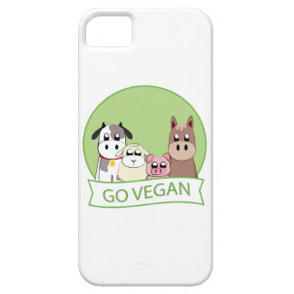 Go Vegan Case For The iPhone 5