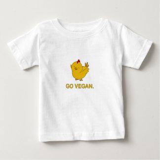 Go Vegan - Cute Chick Baby T-Shirt