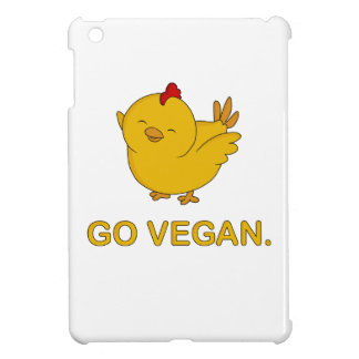 Go Vegan - Cute Chick Cover For The iPad Mini