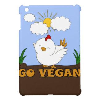 Go Vegan - Cute Chick iPad Mini Cover