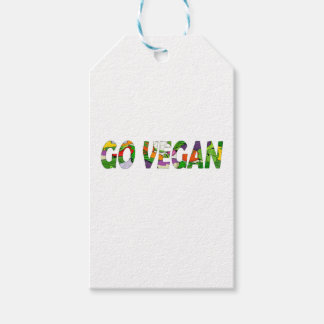 Go vegan gift tags