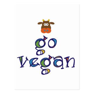Go Vegan Post Cards