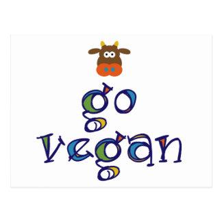 Go Vegan Postcard