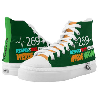 GO VEGAN - S0002 HIGH TOPS