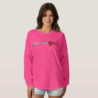 Go Vegan! Stunning Women's Spirit Jersey Shirt