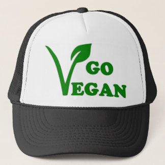 GO VEGAN TRUCKER HAT