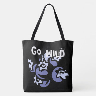 Go Wild Blueberries Tote Bag