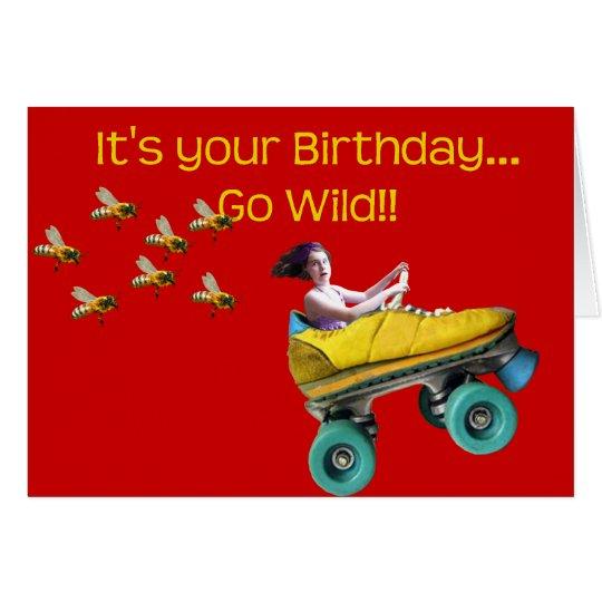 Go Wild!! Card
