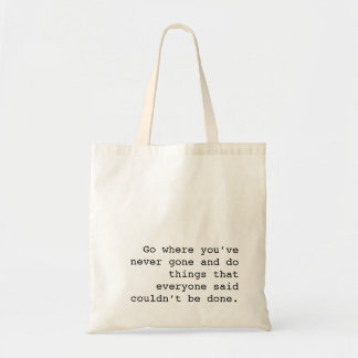 Go wild duck do things no one electricity see ever tote bag
