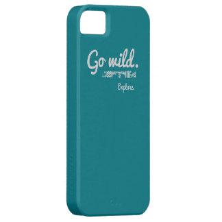 Go wild. Explore. Phone Case