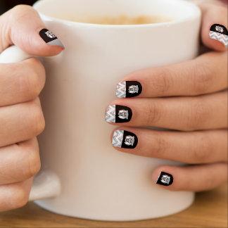 Go WildCat Nails Minx Nail Art