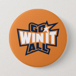 Go Win It All! Large Button (Orange)