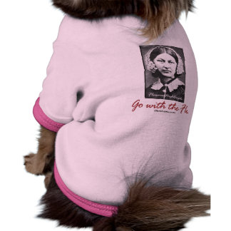 Go with Florence Nightingale Pet Shirt