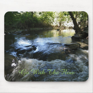 Go With The Flow Mouse Pad