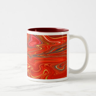 Go with the Flow!  Two-Tone Coffee Mug