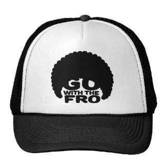 Go With the Fro Trucker Hat