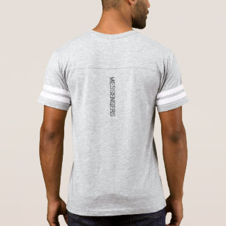 Go ye therefore Mens football t-shirt