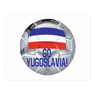 Go Yugoslavia Postcard