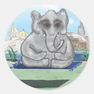 Go Zen, Baby Classic Round Sticker