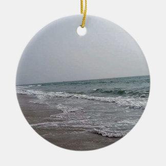 Goa Beach India Ceramic Ornament