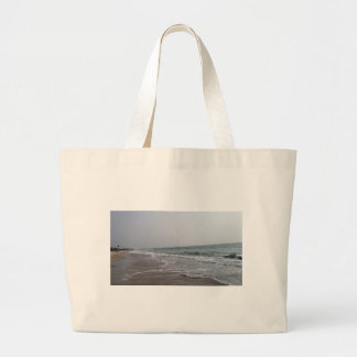 Goa Beach India Large Tote Bag