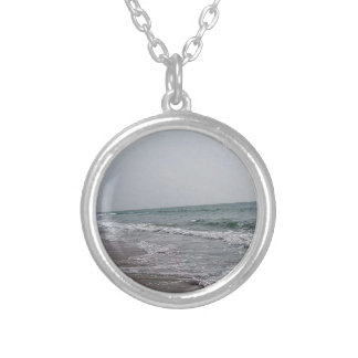 Goa Beach India Silver Plated Necklace