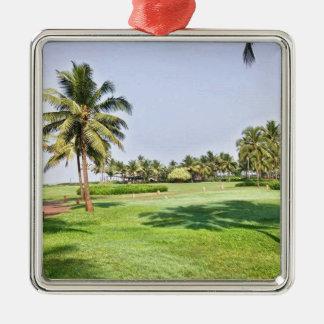 Goa India 2 Metal Ornament