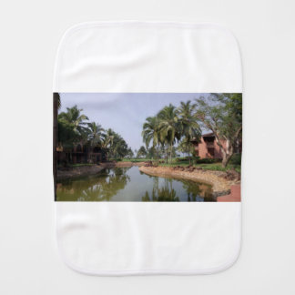 Goa India Burp Cloth