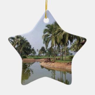 Goa India Ceramic Ornament