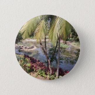 Goa India Garden 2 Inch Round Button