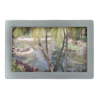 Goa India Garden Belt Buckle